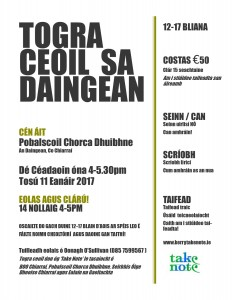 Togra Ceoil Poster